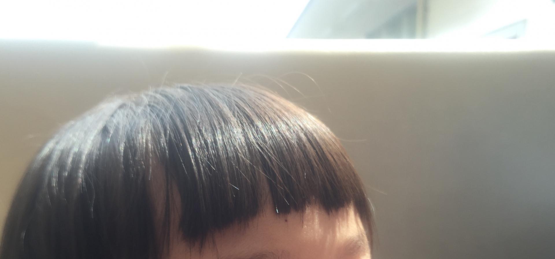 ツヤ髪の女の子