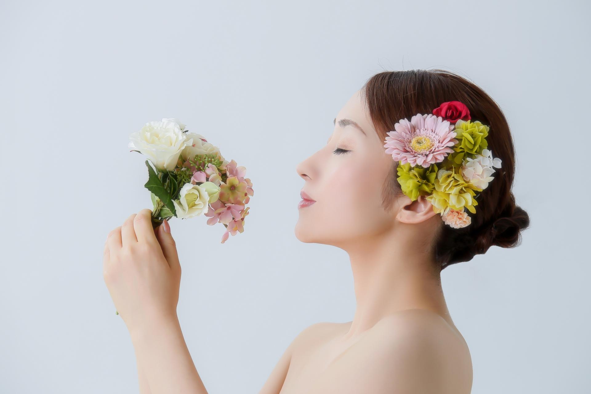 香りが持続するイメージ