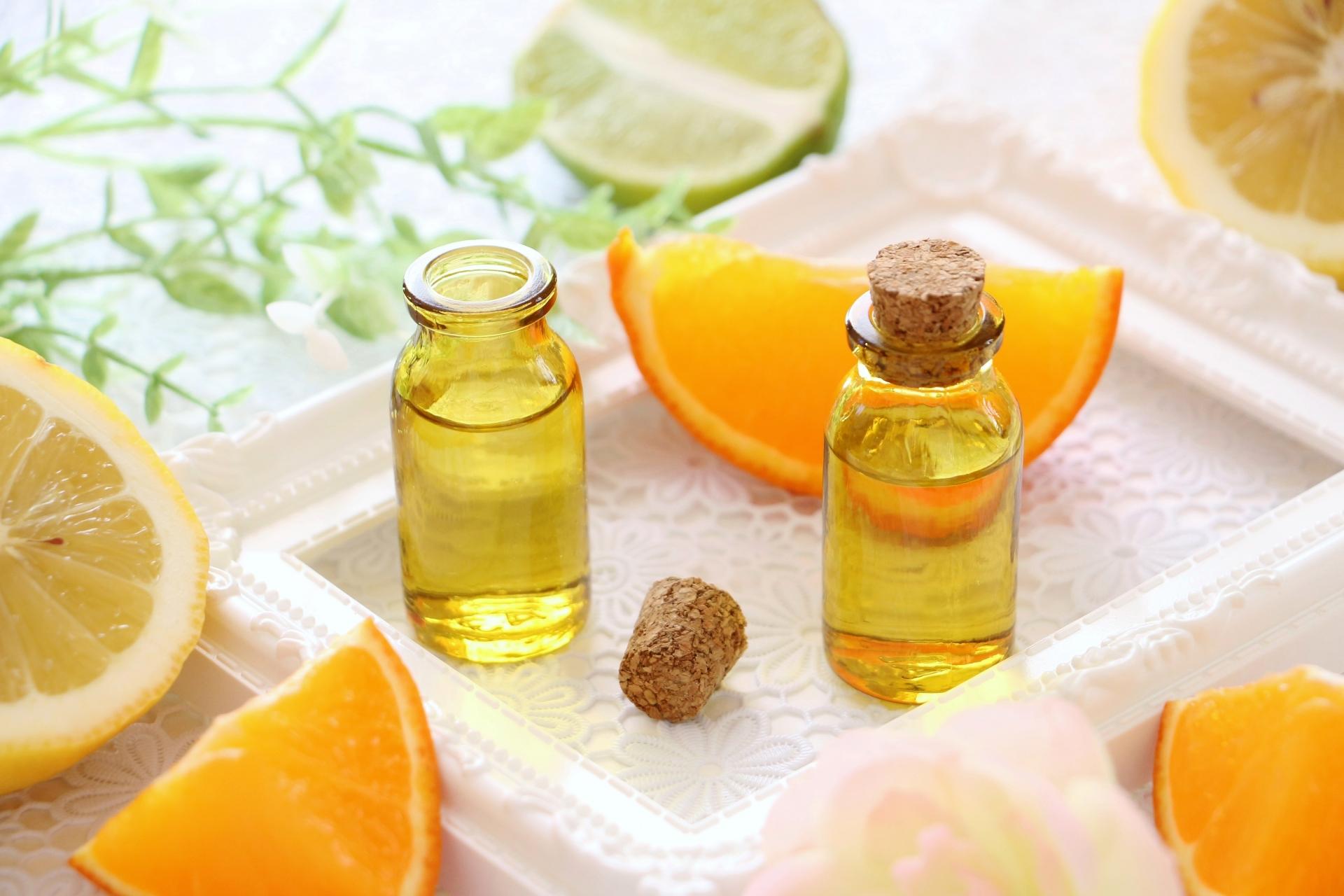 ヘアオイル 柑橘系